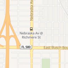 Directions for Interstate Lounge in Tampa, FL 9403 N Nebraska Ave