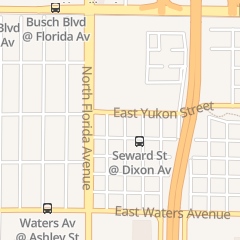 Directions for Ultimate Nails in Tampa, FL 207 E Yukon St