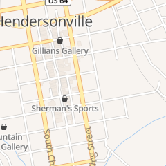 Directions for Lapsley Williams G & Associate in Hendersonville, NC 214 N King St