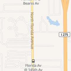 Directions for Class Act Showbar in Tampa, FL 14731 N Florida Ave