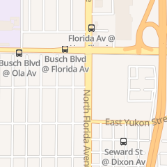 Directions for Mata Munchies in Tampa, FL 9000 N Florida Ave