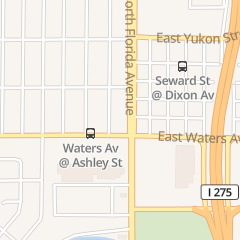 Directions for Subway in Tampa, FL 8410 N Florida Ave