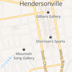 Directions for Curb Market in Hendersonville, NC 221 N Church St