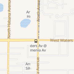 Directions for Express Nails in Tampa, FL 8414 N Armenia Ave Ste A