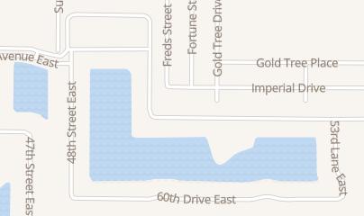 Directions for Bonner Custom Gutters in bradenton, FL 5015 58th terrace east