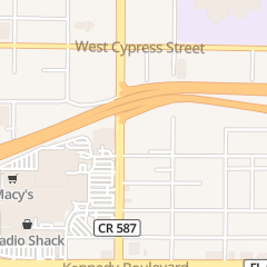 Directions for TERRACE RESTAURANT & LOUNGE in TAMPA, FL 555 N WEST SHORE BLVD