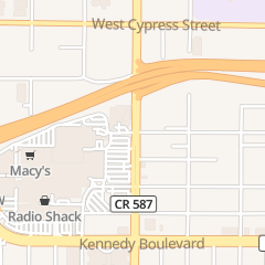 Directions for Franklin Street in Tampa, FL 500 N West Shore Blvd Ste 750