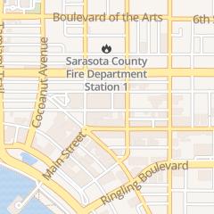 Directions for National Locksmith in Sarasota, FL 1451 1st St
