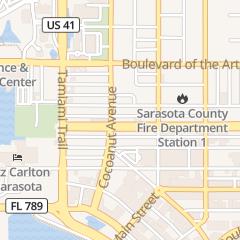 Directions for GOLDMAN DAVID L in Sarasota, FL 308 Cocoanut Ave
