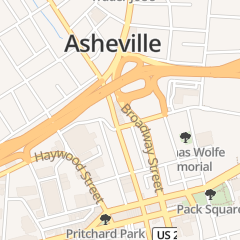 Directions for J C Maynard Jr Auto Reprg in Asheville, NC 116 N Lexington Ave