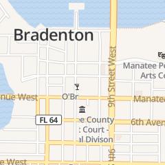 Directions for Amethyst Locksmith in Bradenton, FL 419 12th St W