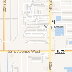 Directions for Anderson Emergency Locksmith in Bradenton, FL 5120 14th St W
