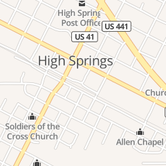 Directions for Marshall and Company Salon in High Springs, FL 60 NE Railroad Ave