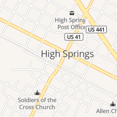 Directions for Jerry's Barber & Beauty Salon in High Springs, FL 18586 High Springs Main St