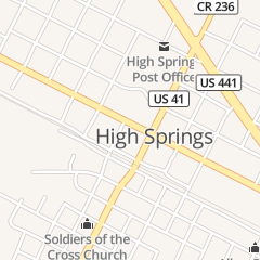 Directions for Talk of the Town Salon in High Springs, FL 23677 W Us Highway 27