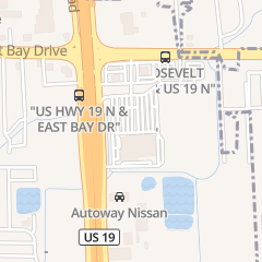 Directions for Davi Nails in Clearwater, FL 2677 Roosevelt Blvd