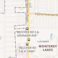 Directions for Perfect Nails in Largo, FL 13461 Belcher Rd S
