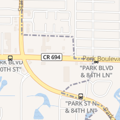 Directions for Paradise Spa and Nails in Seminole, FL 8750 Park Blvd Ste 101