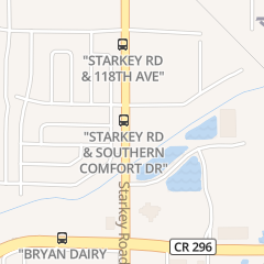 Directions for City Nails in Largo, FL 11413 Starkey Rd