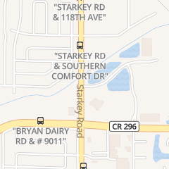Directions for Curl Up & Dye in Largo, FL 11315 Starkey Rd