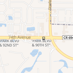 Directions for Carnation Spa in Seminole, FL 9019 Park Blvd