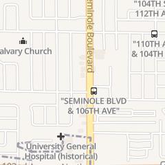 Directions for Badger Title Inc in Largo, FL 10658 Seminole Blvd