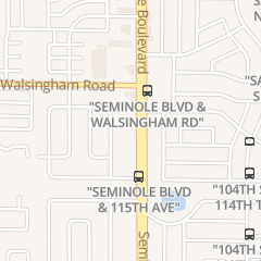 Directions for Drive-Safe Driving School in Largo, FL 11590 Seminole Blvd