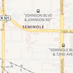 Directions for Refridgerator Repair in Seminole, FL 10992 Park Blvd