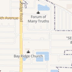 Directions for Ridgeview Apartments in Seminole, FL 6321 134 St