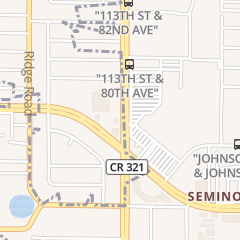 Directions for Kmart Store in Seminole, FL 7850 113Th St