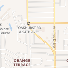 Directions for The Hair Force in Seminole, FL 9348 Oakhurst Rd