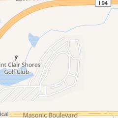 Directions for Chef Raymone in Saint Clair Shores, MI 22185 Masonic Blvd