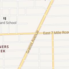 Directions for Mcdonald's Restaurant in Detroit, MI 14271 Gratiot Ave