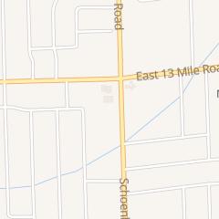 Directions for Mcdonald's Restaurant in Warren, MI 30837 Schoenherr Rd