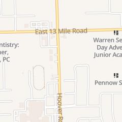 Directions for Firetop Grill in Warren, MI 30740 Hoover Rd