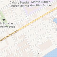 Directions for Wgpr Radio Fm 107.5 in Detroit, MI 3146 E Jefferson Ave