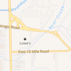 Directions for Motel 6 in Warren, MI 8300 Chicago Rd