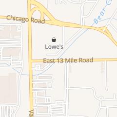 Directions for Alias Bar in Warren, MI 8601 E 13 Mile Rd