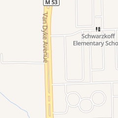 Directions for Mcdonald's Restaurant in Sterling Heights, MI 40422 Van Dyke Ave