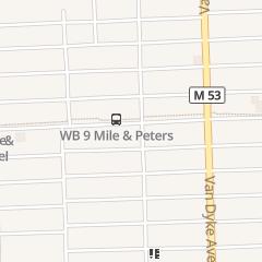 Directions for The Alibi Bar in Warren, MI 7266 E 9 Mile Rd