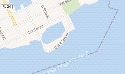 Directions for The Big Deck in Cedar Key, FL 331 Dock St