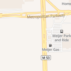 Directions for Dickies Barbeque Pit in Sterling Heights, MI 36721 Van Dyke Ave