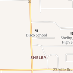 Directions for Cook Chiropractic Clinic Pc in Shelby Township, MI 51540 Van Dyke Ave