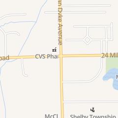 Directions for Gigi Algenio Dds in Shelby Township, MI 52975 Van Dyke Ave