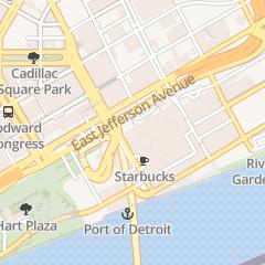 Directions for Deloitte in Detroit, MI 200 Renaissance Ctr Ste 3900