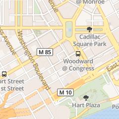 Directions for Caucus Club Resturaunt in Detroit, MI 150 W Congress St