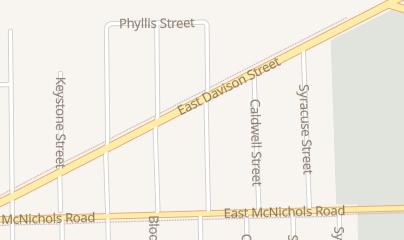 Directions for Slammer in Hamtramck, MI 5444 E Davison St