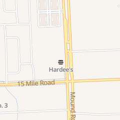 Directions for Hardee's Restaurant in Sterling Heights, MI 35155 Mound Rd