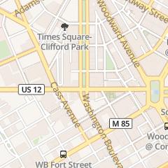 Directions for Roast in Detroit, MI 1128 Washington Blvd