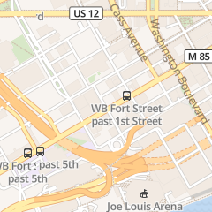 Directions for Detroit Free Press - Classified Want Ads in Detroit, MI 600 W Fort St